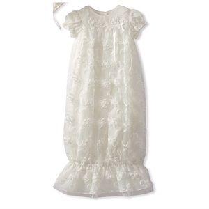 Newborn Cherished Heirloom Embroider Layette Gown